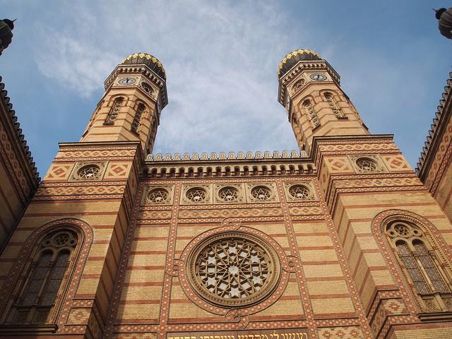 בית הכנסת הגדול מבט חיצוני