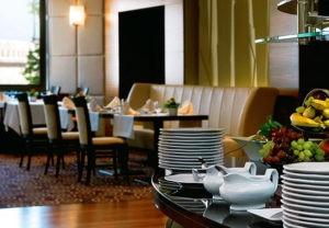 מלון הילטון בודפשט חדר אוכל