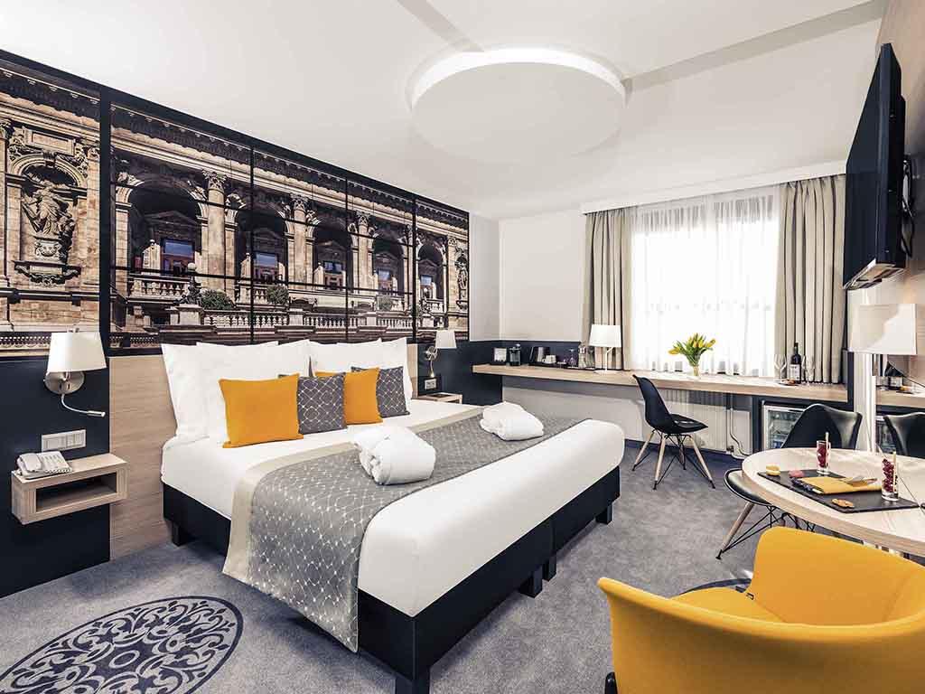 החדר במלון מרקיור