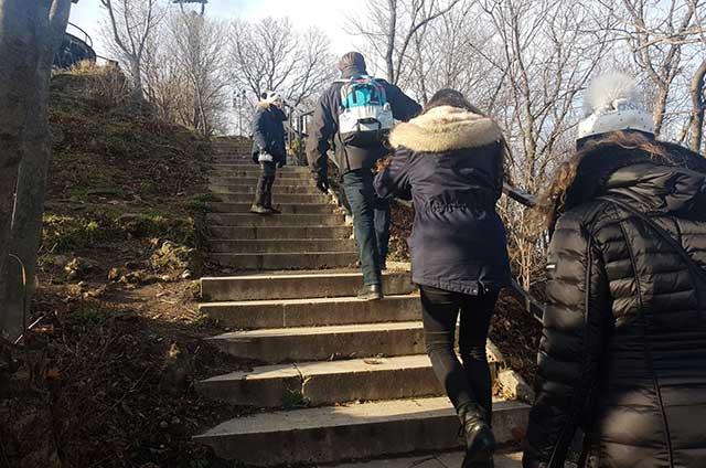 המדרגות שבסיור