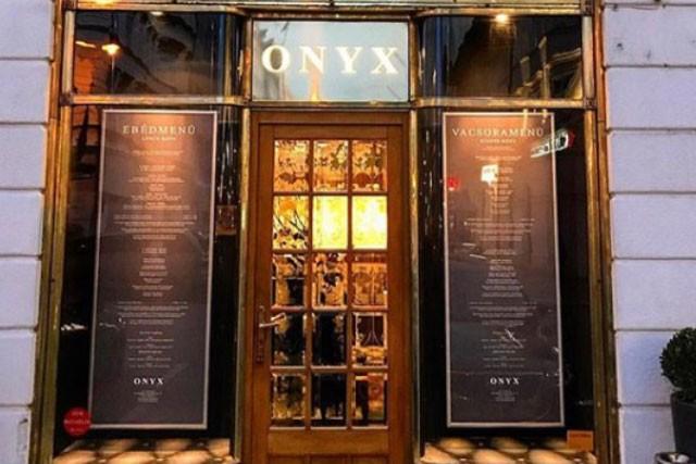 מסעדת onyx מבחוץ