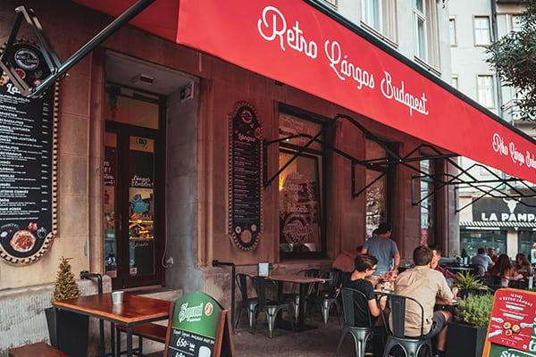 Retro Lángos Budapest